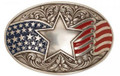 Old Glory Trophy Buckle