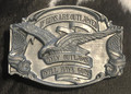 If Guns were Outlawed Trophy Buckle