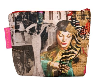 Tretchikoff Collage Cosmetic Bag