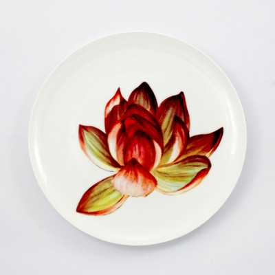 Tretchikoff Lotus Flower Dinner Plate