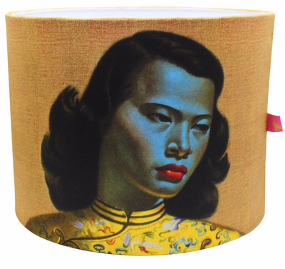 Tretchikoff Chinese Girl Lampshade - front view
