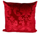 Tretchikoff 'Velvet Lotus' Red Cushion 50x50cm