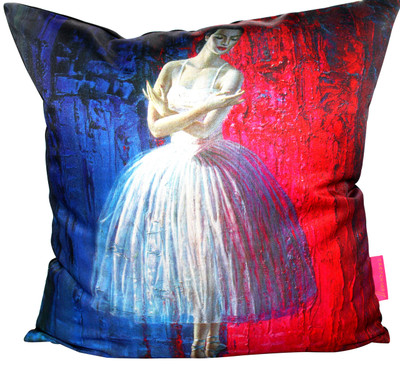 Tretchikoff Ballerina Cushion Cover 50x50cm