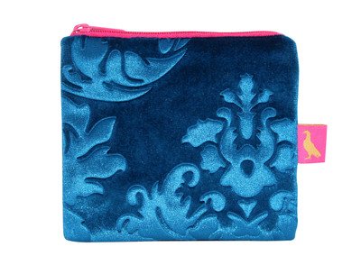 Tretchikoff Velvet Lotus Blue Coin Purse