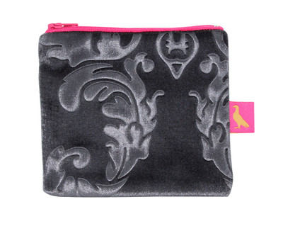 Tretchikoff Velvet Lotus Silver Coin Purse