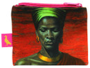 Tretchikoff Zulu Girl Red Sunset Coin Purse