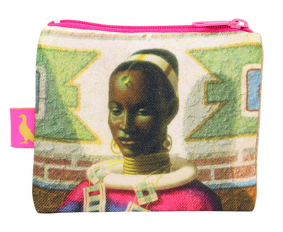 Tretchikoff woman of Ndebele Coin Purse