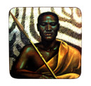 Tretchikoff 'Xhosa Warrior' Coasters