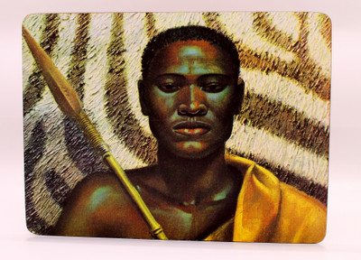 Tretchikoff 'Xhosa Warrior' Placemat
