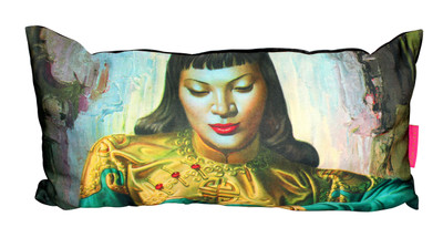 Tretchikoff Lady of Orient Cushion cover - 30 x 60cm