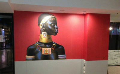 Tretchikoff Ndebele Woman Wallpaper