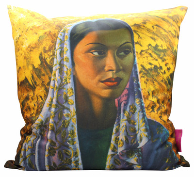 Tretchikoff 'Malay Bride' Cushion Cover 50x50cm