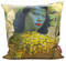 Tretchikoff 'Chinese Girl with Magnolias' Cushion Cover 50x50cm