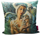 Tretchikoff 'Dying Swan Alicia Markova' Cushion Cover 50x50cm