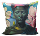 Tretchikoff 'Zulu Girl with Pink Magnolias' Cushion Cover 50x50cm