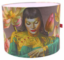 Tretchikoff 'Lady of Orient with Lotus Flowers' Lampshade