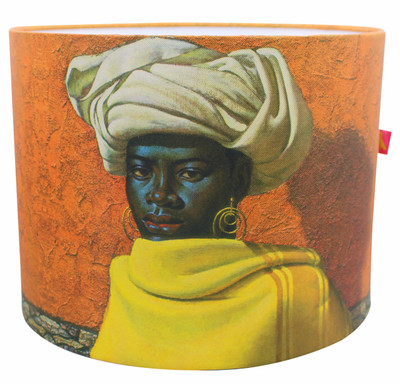 Tretchikoff 'Swazi Girl' Lampshade