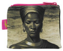 Tretchikoff 'Zulu Girl Sepia' Coin Purse