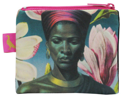 Tretchikoff 'Zulu Girl Magnolias' Coin Purse