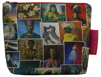 Tretchikoff New Collage Cosmetic Bag