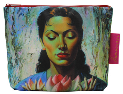 Tretchikoff 'Lady with Lotus' Cosmetic Bag