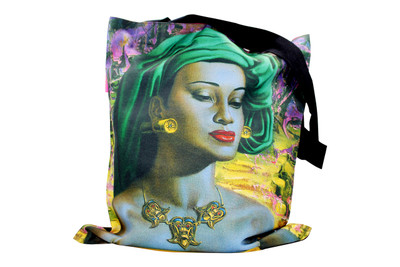 Tretchikoff 'Balinese Girl' Tote Bag
