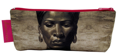 Tretchikoff 'Zulu Girl' Sepia Makeup Purse Details