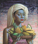 Image: Tretchikoff 'Fruits of Bali' Canvas print