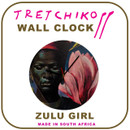 "Tretchikoff ""Zulu Girl & Magnolias"" Wall Clock"