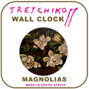 "Tretchikoff ""Magnolias""  Wall Clock"
