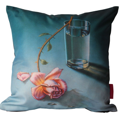 Tretchikoff 'Weeping Rose' Cushion Cover 50x50cm