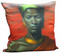 Tretchikoff 'Zulu Girl' Red Sunset Cushion Cover 50x50cm