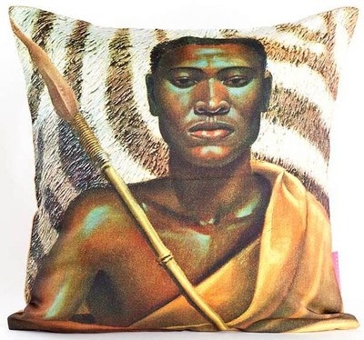 Tretchikoff 'Xhosa Warrior' Cushion Cover 50x50cm
