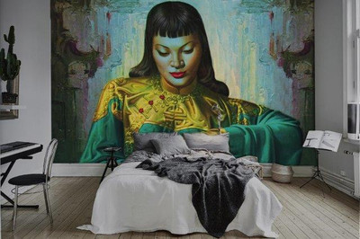 Tretchikoff Lady from Orient Wallpaper