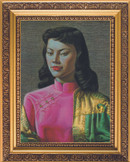 Tretchikoff Fridge Magnet Miss Wong