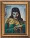 Tretchikoff Fridge Magnet Lady from Orient