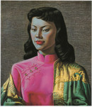 Tretchikoff 'Miss Wong' Canvas Print