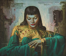 Tretchikoff 'Lady From Orient' Canvas Print