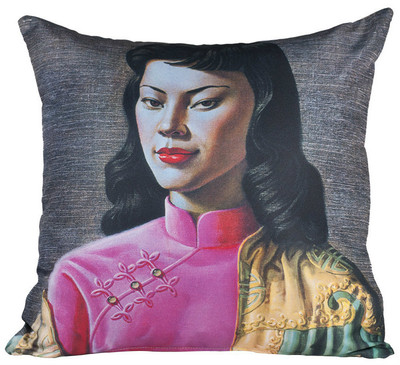 Tretchikoff 'Miss Wong' Cushion Cover 50x50cm