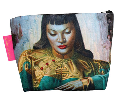 Lady from Orient Cosmetic Bag
