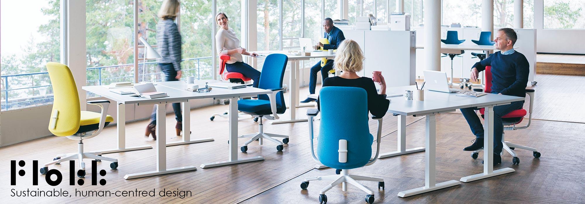 Flokk - Sustainable, Human-Centred Design