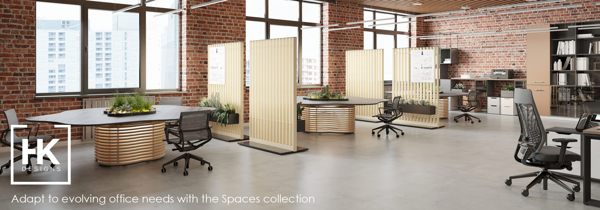 HK Designs Spaces Collection - Space 2 Create - Space 2 Occupy - Space 2 Sit - Space 4 Four