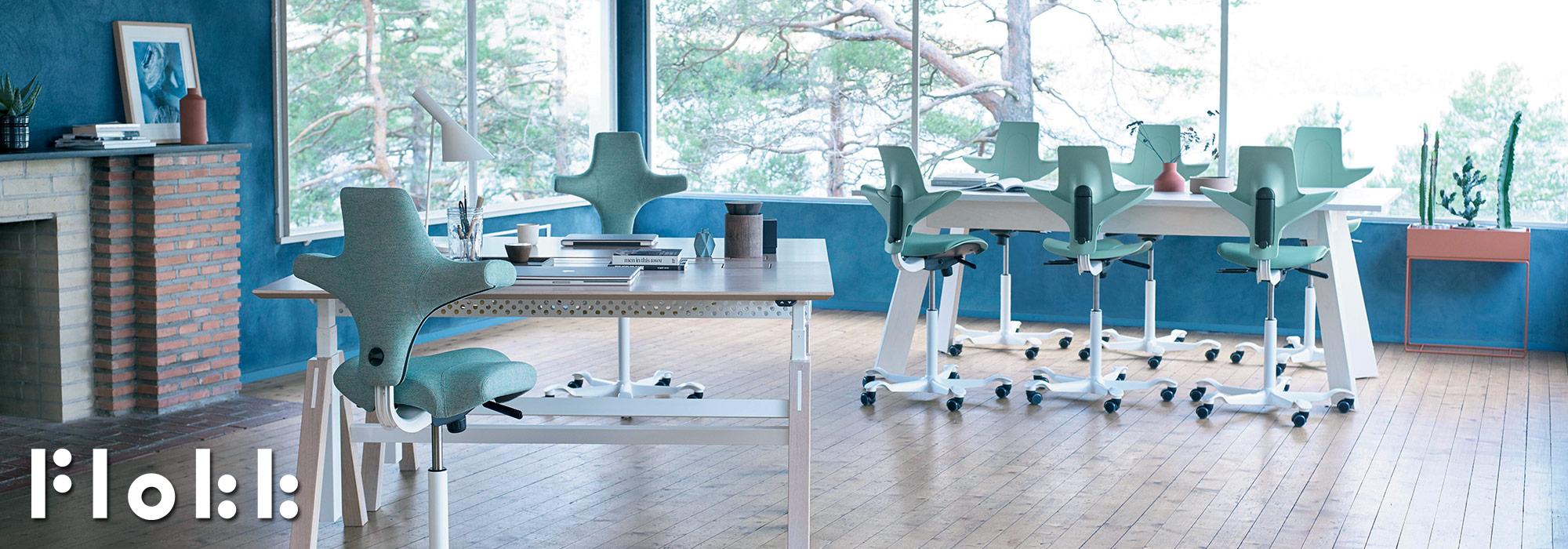 Flokk - HAG Capisco & Capisco Puls Chairs