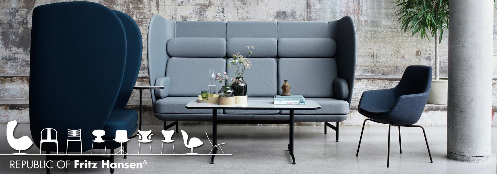Fritz Hansen Plenum Seating