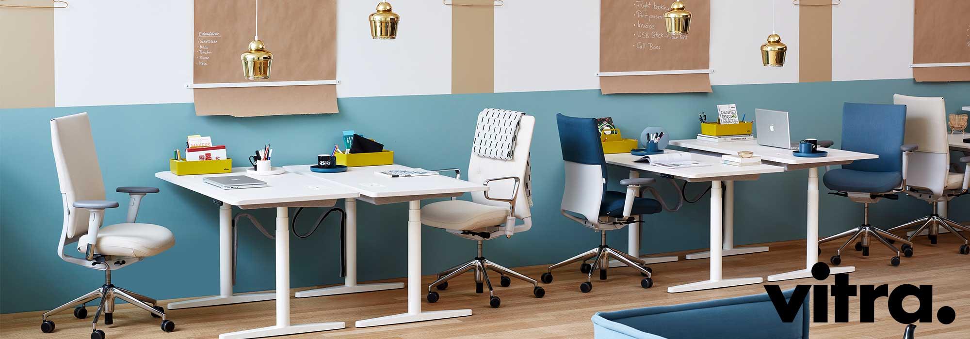 Vitra ID Chairs & Tyde Desking