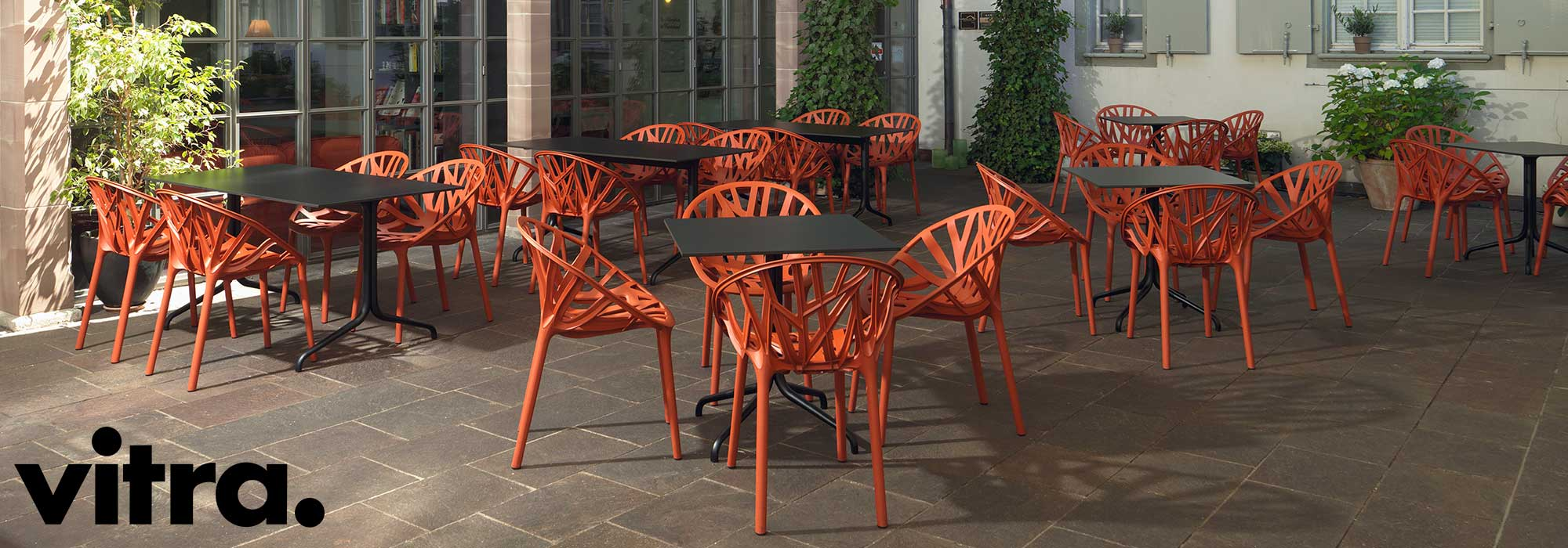 Vitra Vegetal Chairs Outdoor Cafe Environment
