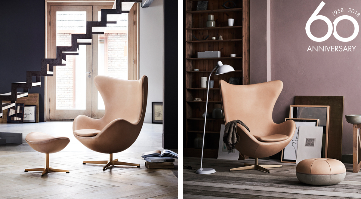 Fritz Hansen Egg Chair Anniversary Limited Edition Arne Jacobsen