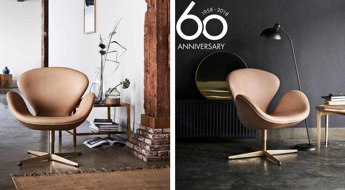 Fritz Hansen Swan Chair Anniversary Limited Edition Arne Jacobsen