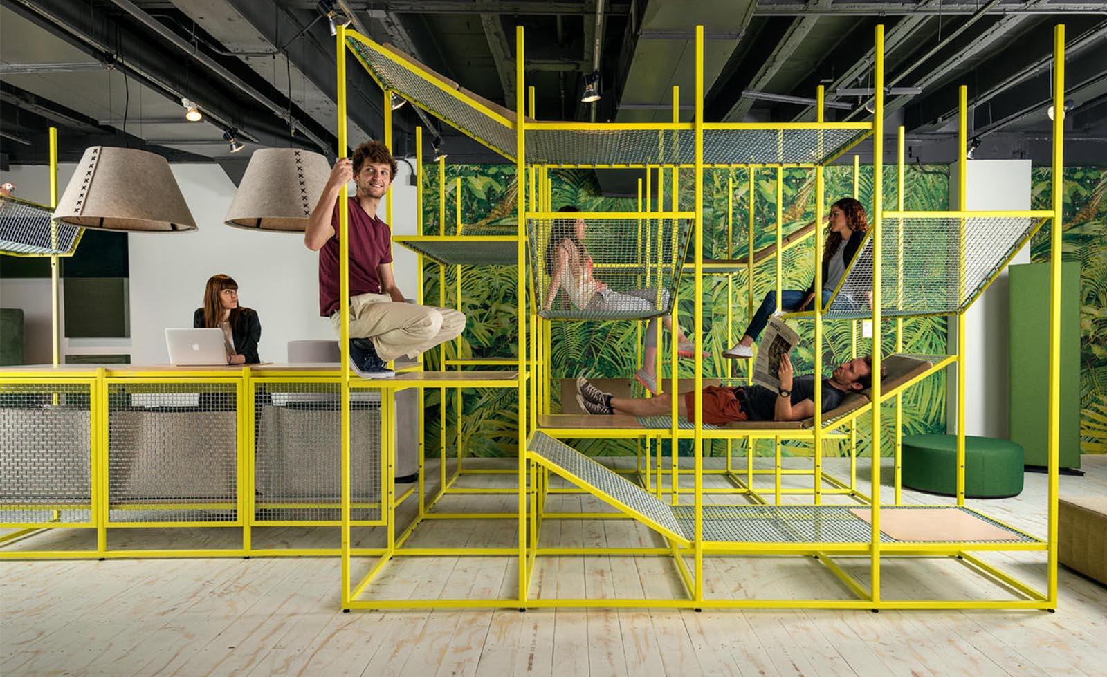 Think Furniture - Hybrid Office Design - BuzziSpace BuzziJungle