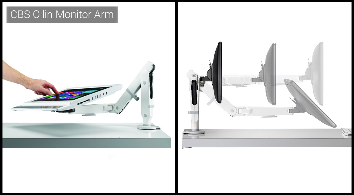 Colebrook Bosson Saunders Ollin Monitor Arm